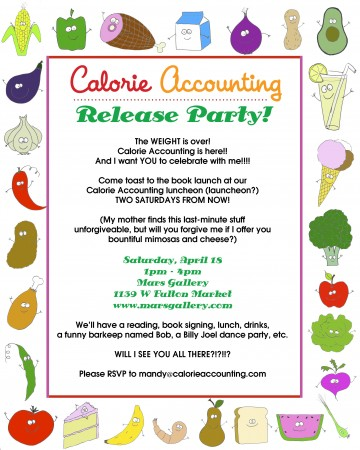 Calorie Accounting Release Party
