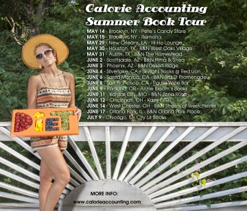 Calorie Accounting Summer Book Tour